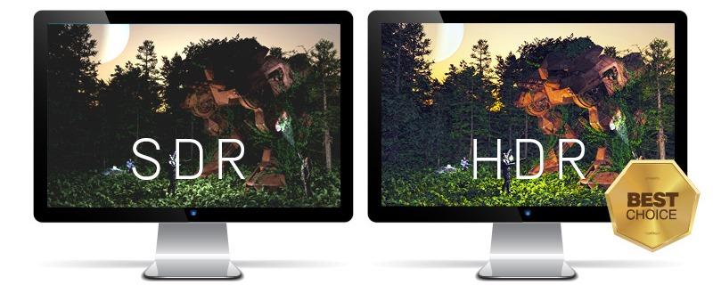 Поддержка HDR