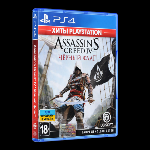 Assassin's Creed IV. Черный флаг PS4 купить