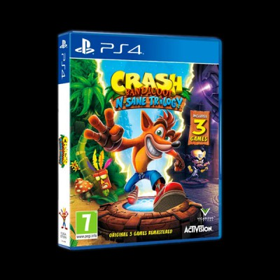 Bandicoot N\'sane Trilogy PS4 купить