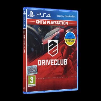 DriveClub PS4 купить