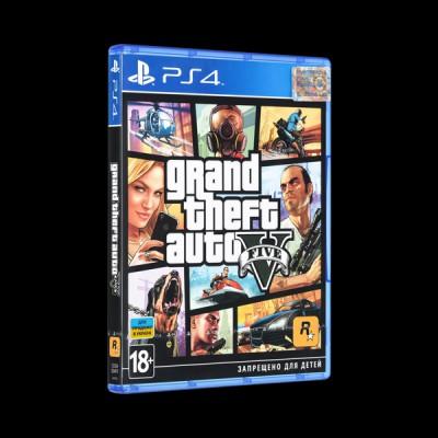 Grand Theft Auto V PS4 купить