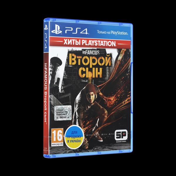 Infamous: Second Son PS4 купить