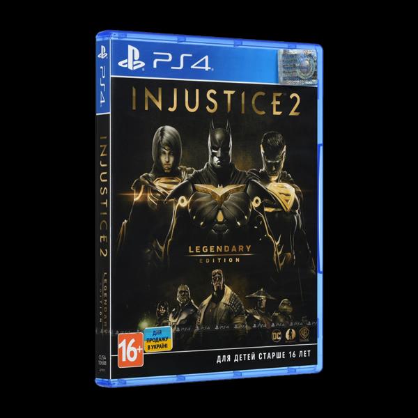 Injustice 2. Legendary Edition PS4 купить