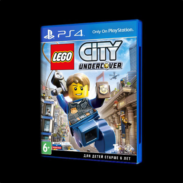 LEGO CITY Undercover PS4 купить