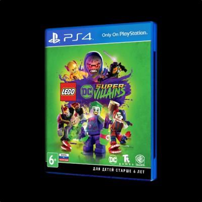 LEGO DC Super-Villains PS4 купить