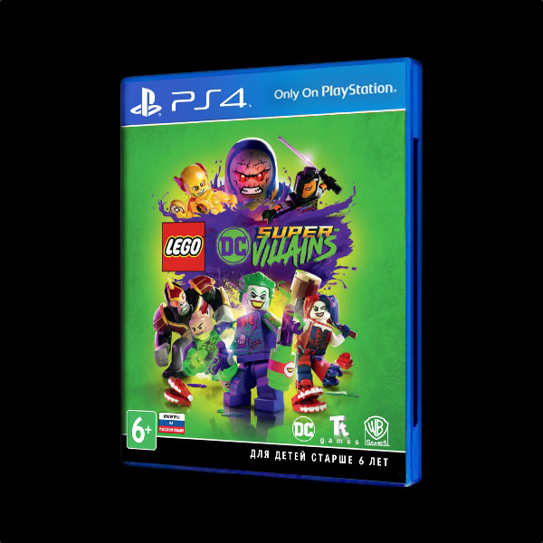 LEGO DC Super-Villains PS4 купить