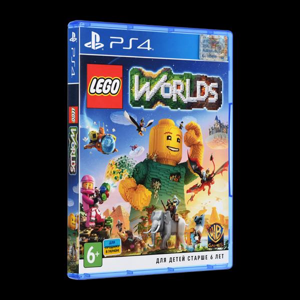 LEGO Worlds PS4 купить