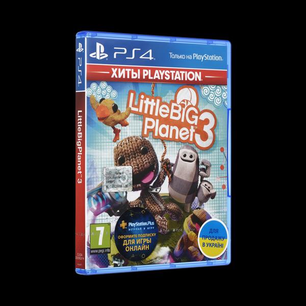 LittleBigPlanet 3 PS4 купить