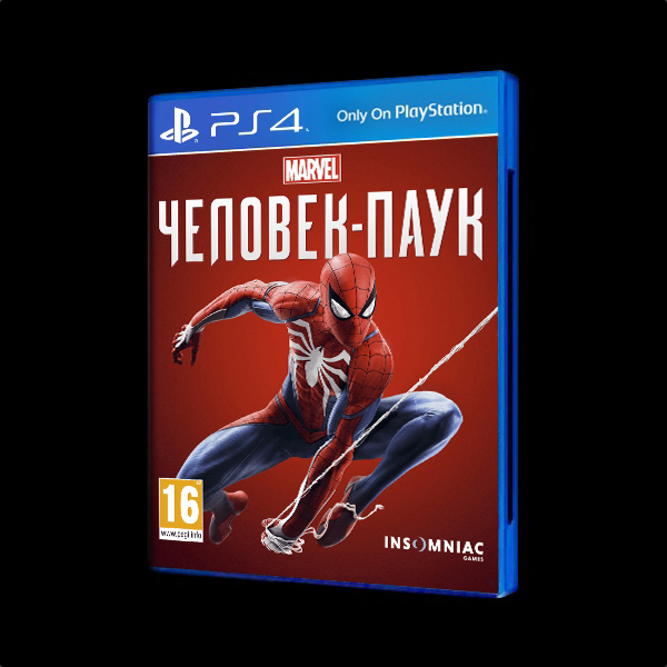 Marvel Человек-паук Игра года PS4 купить