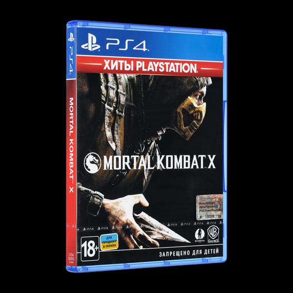 Mortal Kombat X PS4 купить