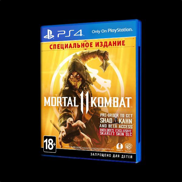 Mortal Kombat 11 Специальное издание PS4 купить