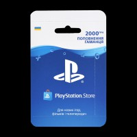 Карта оплаты для PlayStation Store 2000 грн.