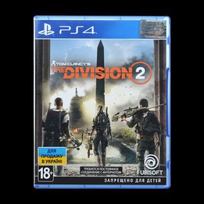 Tom Clancy\'s The Division 2 PS4 купить