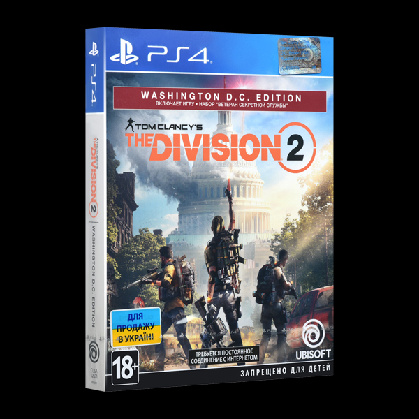 Tom Clancy's The Division 2. Washington D.C. Edition PS4 купить