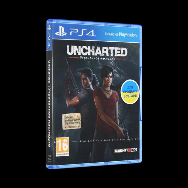 Uncharted 4: Утраченное наследие PS4 купить