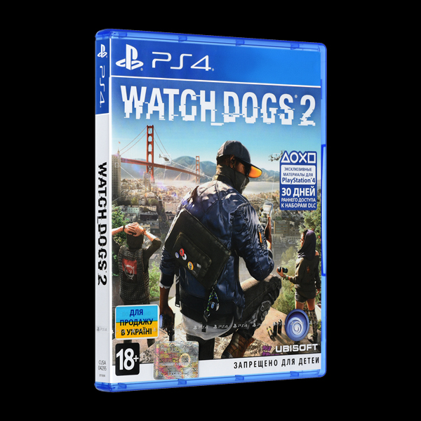 Watch Dogs 2 PS4 купить