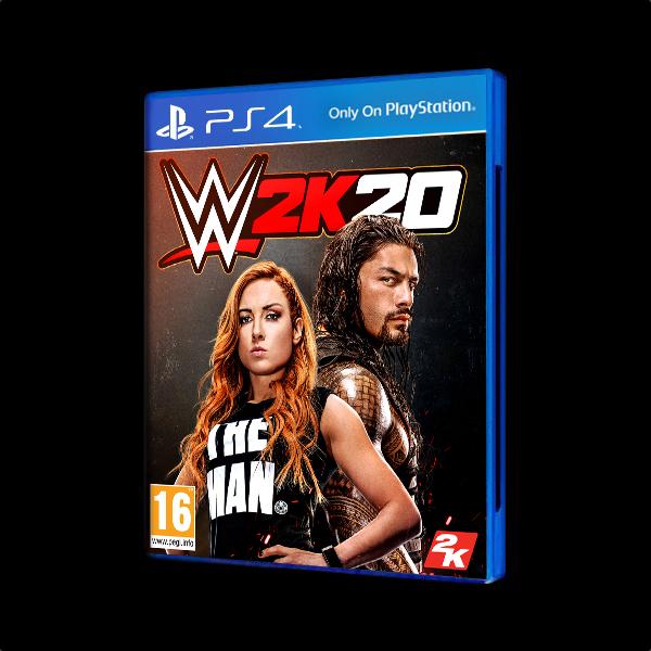 WWE 2K20 PS4 купить