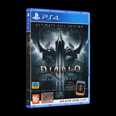 Diablo III: Reaper of Souls. Ultimate Evil Edition PS4 купить