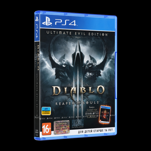 Diablo III: Reaper of Souls. Ultimate Evil Edition PS4 купить