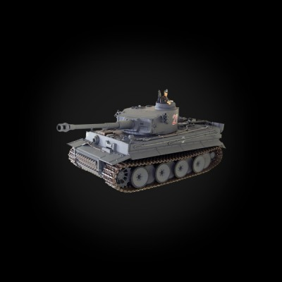 VSTANK PRO German Tiger I EP 1:24 Airsoft (Grey RTR Version)