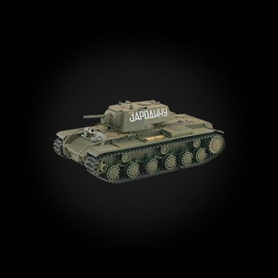 VSTANK PRO Soviet Red Army KV-1B 1:24 Airsoft (Khaki RTR version)