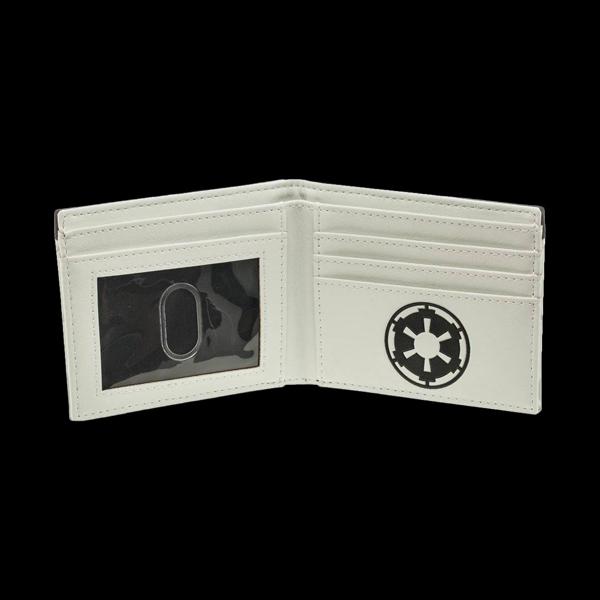 Star Wars Stormtrooper Helmet Bifold Wallet (MW3QTWSTW) фото