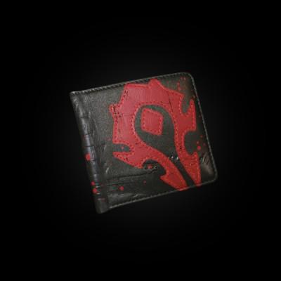 J!NX World of Warcraft Horde Crest Leather Wallet купить