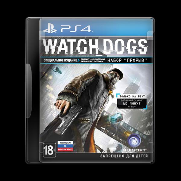 Watch Dogs PS4 купить