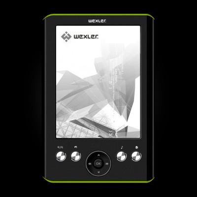 WEXLER.BOOK E5001 Black/Lime
