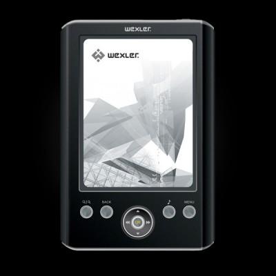 WEXLER.BOOK E5001 Black/Silver