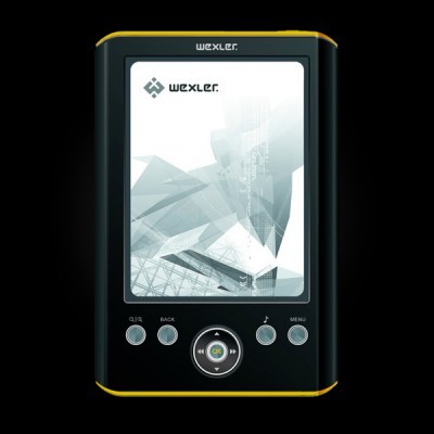 WEXLER.BOOK E5001 Black/Yellow