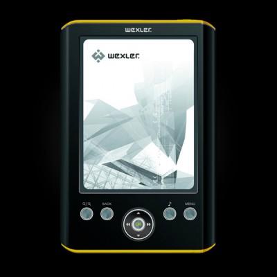 WEXLER.BOOK E5001 Black/Yellow
