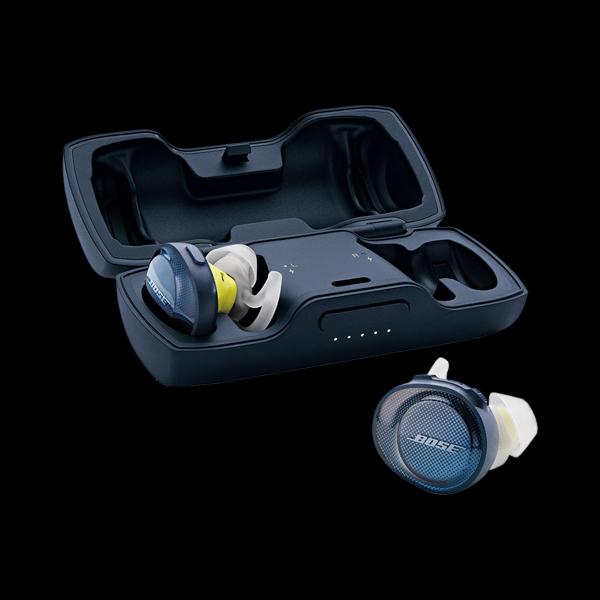 Bose SoundSport Free (Blue/Citron) фото