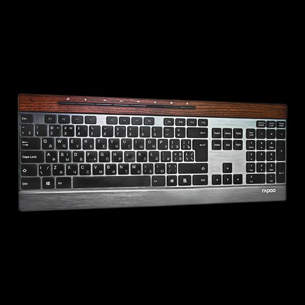 Rapoo E9260 Multi-mode Wireless Ultra-slim Keyboard Black купить