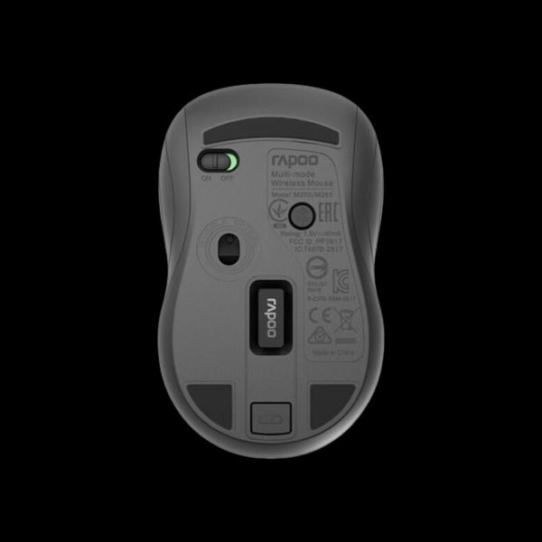 Rapoo M260 Silent Wireless Multi-mode Gray стоимость