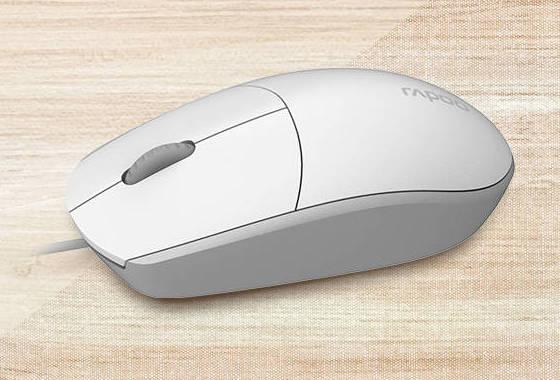 Белая мышка