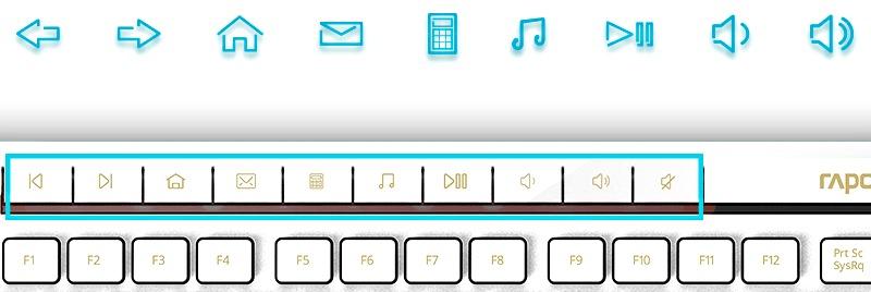 мультимедиа клавиши клавиатуры