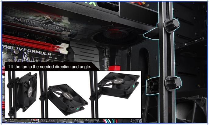Направляющие VF(VGA/FAN) Zalman Z3 Plus