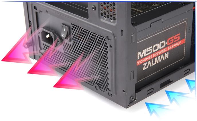 Установка PSU на дне корпуса Zalman Z3 Plus