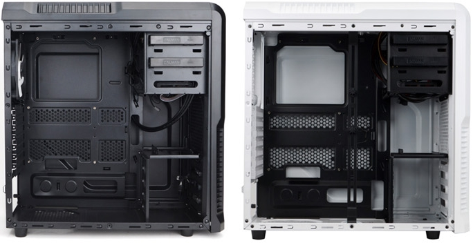Чёрный/белый корпус Zalman Z3 Plus
