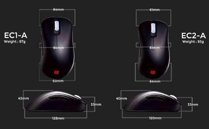 Мышь Zowie EC1-A. Фото 1